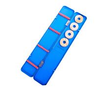 多功能渔具盒主线子线盒浮漂渔具配件钓鱼用品多用垂钓钓鱼盒漂盒 蓝漂盒