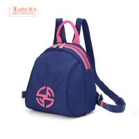 2019莱夫新款帆布双肩包女士韩版书包时尚大学生牛津布迷你小背包