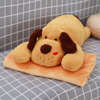 0705194539717卡通抱枕被子两用午睡枕头汽车办公室沙发靠枕靠垫折叠空调被毯子 抱枕均码(毯子1米*1.7米)
