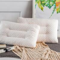 乳胶枕头记忆枕单人学生宿舍护颈枕颈椎枕芯 天然乳胶枕