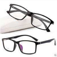 超轻全框眼镜框方形大框眼镜架男女款可配防蓝光平光近视眼镜男