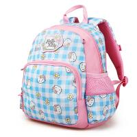 Hello Kitty凯蒂猫 KT1046粉蓝 女童护脊书包幼儿园女童可爱背包 当当自营