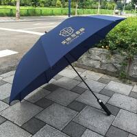 超大商务长柄自动高尔夫雨伞直杆广告伞 30寸8K