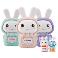 0-3-6岁宝宝胎教玩具英语音乐播放器婴儿早教机米宝兔儿童故事机