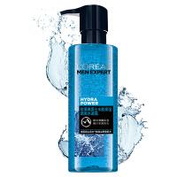 欧莱雅 男士水能保湿补水酷爽护肤水凝露120ml