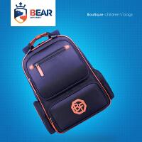 熊之族书包定制印logo培训幼儿园防水护脊男童女双肩包小学生儿童