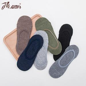 顶瓜瓜袜子男士棉质短袜船袜男夏季短筒吸汗基础男袜