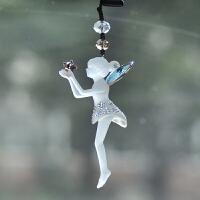 汽车挂件水晶饰品摆件可爱女车载挂饰轿车内用品保平安符吊坠