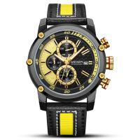 2018新款 美格尔megir手表潮流运动多功能计时男士手表2079