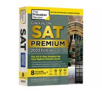 现货英文原版 新版普林斯顿SAT考试 2020版白金版备考指南 Cracking the SAT Premium Edi