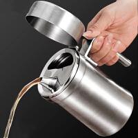 普智 高品质不锈钢油壶 304不锈钢厨房油瓶 防漏酱油瓶 醋壶家用油罐 厨房用品调味料瓶