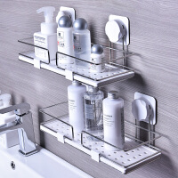 卫生间置物架洗手间洗漱台吸壁式壁挂架厕所浴室免打孔厨房收纳架