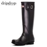 ins超火夏季防水雨靴女士胶鞋时尚水靴防滑户外高筒雨鞋女