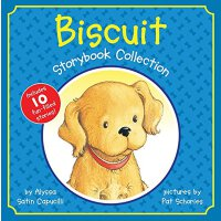 Biscuit Storybook Collection 英文原版 小饼干系列10个故事合集 精装 I can rea
