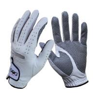 高尔夫球手套 专业高尔夫羊皮手套透气防滑耐磨质优价美 左手 L 25码
