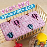 四季保护垫垫被寝室小孩用的床垫幼儿园掌柜尺寸婴儿床珊瑚绒夏