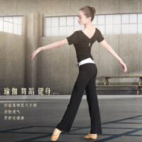 瑜伽服新款健身房运动套装女夏季舞蹈练功服显瘦跑步速干衣服