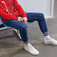 【1件3折到手价:134.7,4月10日0点】美特斯邦威牛仔裤男秋季新款时尚潮流休闲休闲百搭男士牛仔裤
