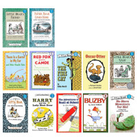 I CAN READ 一和第二阶段汪培�E推荐英文原版书单 儿童绘本25本套装 送音频Happy Birthday,Danny and the Dinosaur Little Bear's friend