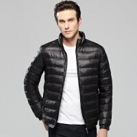 冬季新款轻薄羽绒服 加厚轻薄休闲运动羽绒服短款夹克外套修身轻薄时尚休闲运动羽绒外套