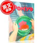 现货 宫崎骏 悬崖上的金鱼姬 波妞 电影艺术画册设定集 英文原版 The Art of Ponyo 精装 Hayao