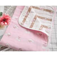 六层全棉纱布毛巾被 纯棉加厚单双人盖毯夏季婴儿毯子儿童空调被上新