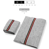 小米笔记本Air12.5寸, 13.3寸电脑内胆包联想小新air3pro电脑保护套 浅灰色 套装