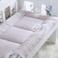 定做 儿童床垫 婴儿床褥子幼儿园学生宿舍0.9 1.0m1.2米床褥垫被 柔软水洗棉