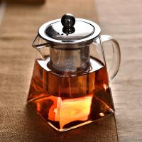 功夫茶具套装客厅家用过滤泡茶壶加厚玻璃耐高温花茶壶红茶泡茶器kb6