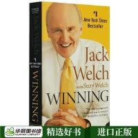 Winning赢英文原版经济管理书JackWelch杰克韦尔奇自传通用