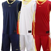 正品etto英途透气吸汗无袖篮球服 光板篮球服可印号印字 BW2102