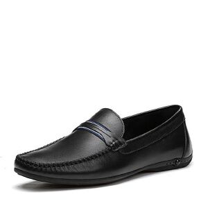 Tata/他她2018夏专柜同款牛皮英伦厚底乐福鞋男休闲鞋S2528BM8