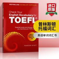 托福英语词汇检测 英文原版教材 Check Your English Vocabulary for TOEFL 英文版