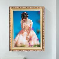 实木婚纱照片全家福儿童相框1216寸24寸32寸40寸A4A3挂墙摆台定制