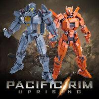 儿童积木玩具拼装环太平洋2机甲复仇流浪者男孩拼插组装模型礼物