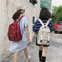 书包女韩版高中大学生电脑包大容量2019新款背包双肩包