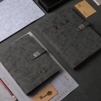 笔记本子文具记事本学生学习日记本谢师礼物商务办公礼品A5活页本