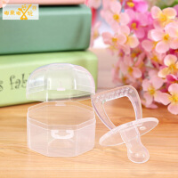 婴儿用品/安全硅胶安抚奶嘴婴儿安睡玩嘴/全透明硅胶材质 图片色