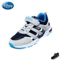 迪士尼Disney童鞋18新款儿童单网运动鞋男童休闲鞋舒适透气跑步鞋(7-11岁可选) S73105
