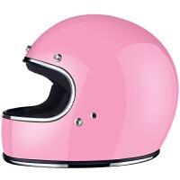 小贝同款重机车全覆式头盔复古哈雷男女摩托车全盔四季安全帽 X