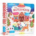 英文原版进口童书 First Stories: The Nutcracker 胡桃夹子机关操作活动玩具纸板书 1-5岁