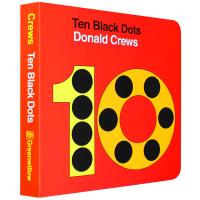正版现货 10个小黑点纸板书 英文原版 Ten Black Dots Donald Crews 吴敏兰绘本123 第4