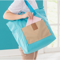 短途旅行包折叠包购物袋帆布手提女包单肩包大容量拉杆行李箱包 大