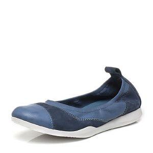 Bata/拔佳春季专柜同款圆头平跟时尚拼色米白浅口女单鞋65-10AQ7