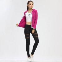 户外运动健身服女外套运动休闲套装跳操瑜伽健身服女三件