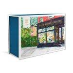 英文原版 世界各地的书店 明信片 插画 World's Greatest Bookstores