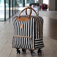 旅行包手提万向轮行李袋登机箱短途防水旅游包女大容量轻便拉杆包