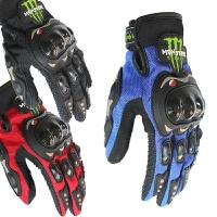 摩托车骑士装备骑行越野鬼爪男士机车骑行冬季防摔赛车手套