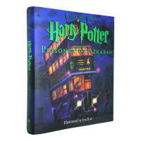 英文原版 哈利波特与阿兹卡班的囚徒 Harry Potter and the Prisoner of Azkaban 彩绘插图 精装收藏版