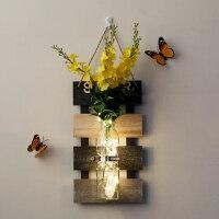 创意墙面装饰品花瓶餐厅玄关奶茶店房间室内家居装饰挂件